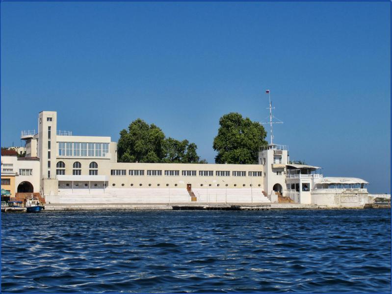 Морской вокзал Севастополь