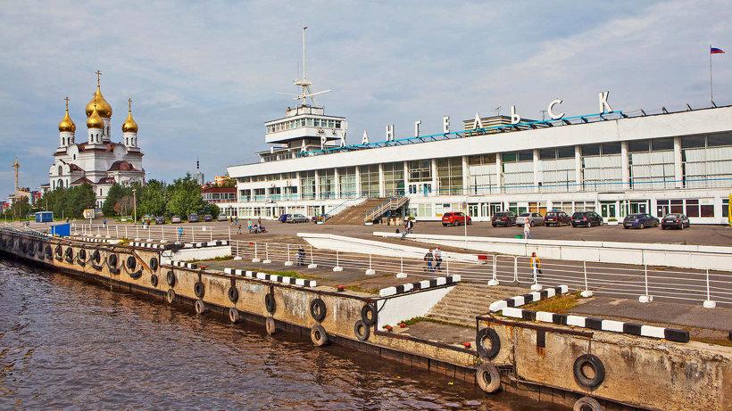 Морской вокзал Архангельск