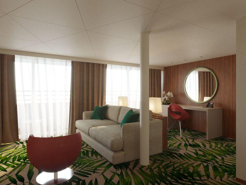 люкс с балконом Мустай Карим